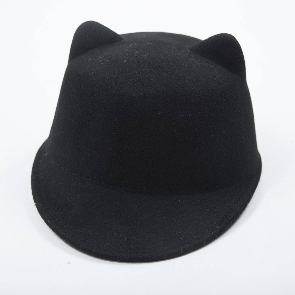 ベビー&キッズ 猫耳付帽子