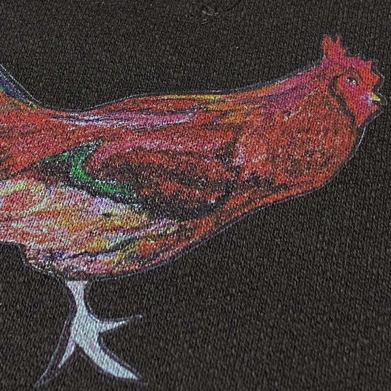 インクジェット印刷例 鶏2
