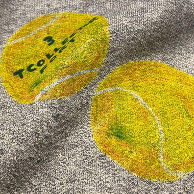 インクジェット印刷例 テニスボール