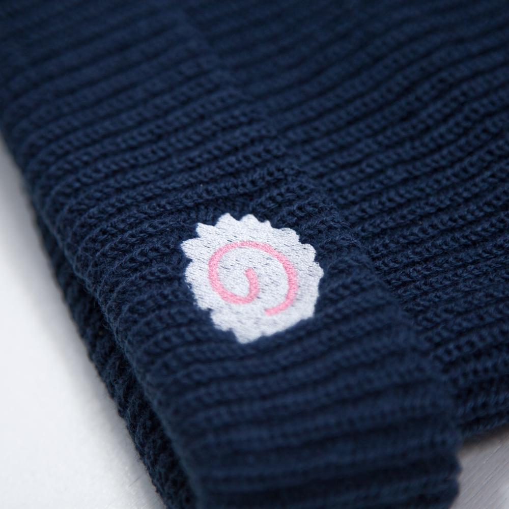 2色刺繍の例