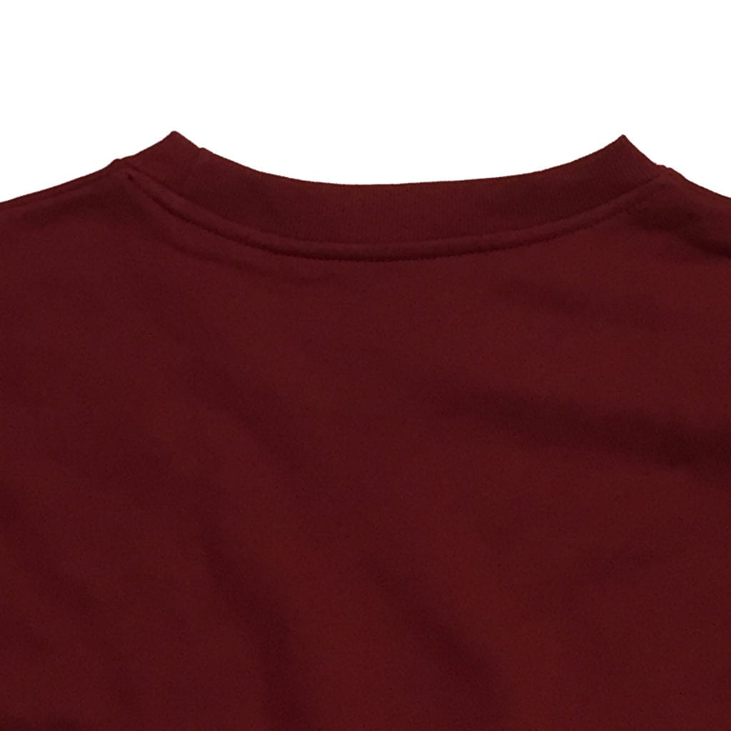 strawberry blue ヘリボーンスウェット生地 オリジナルスウェット縫製 ヴァーガンディー