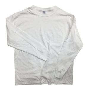 ロンT制作事例 20s 天竺生地 オリジナルTシャツ縫製 ホワイって