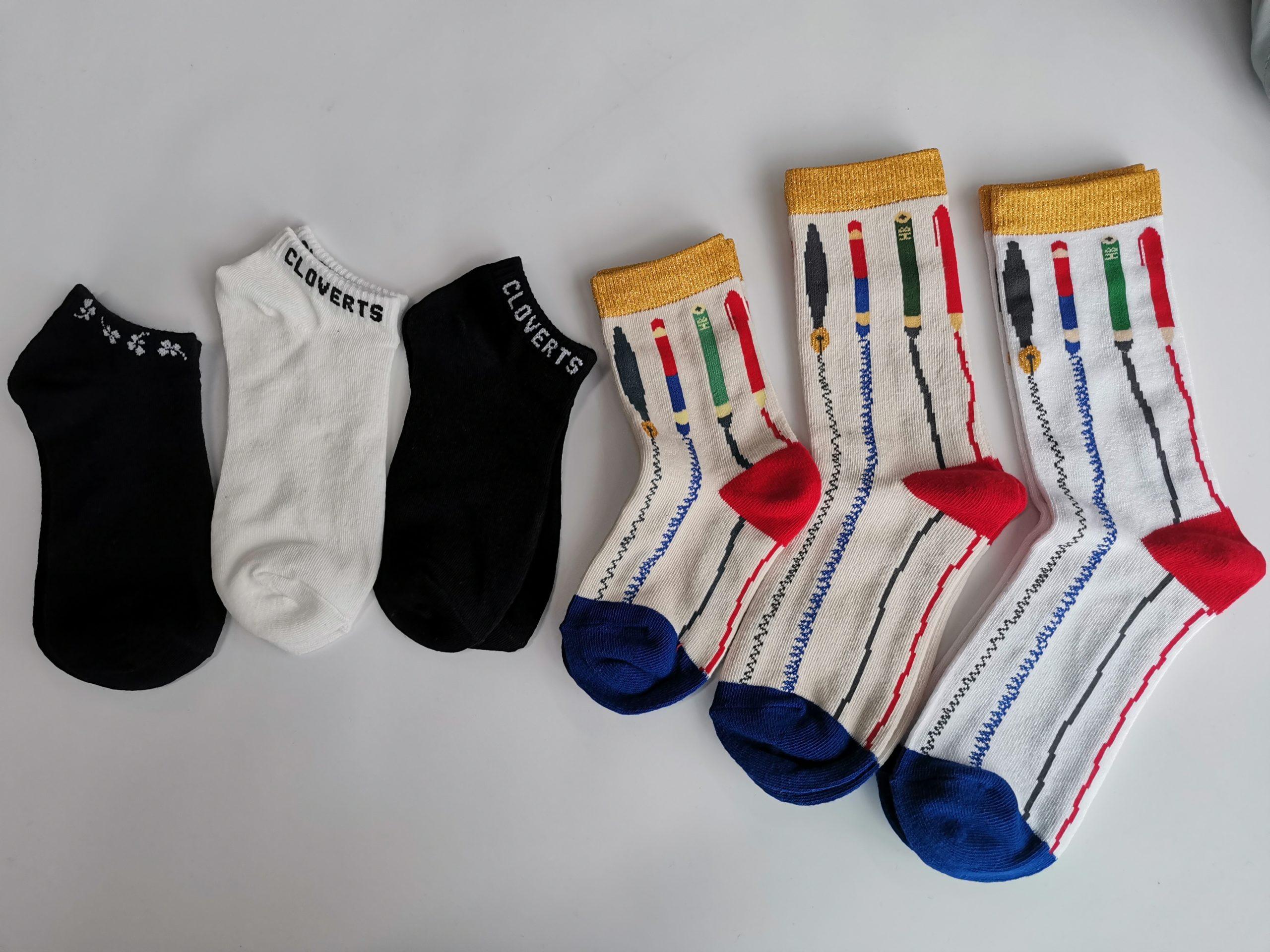小ロット靴下のOEM製作事例