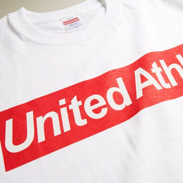 シルクスクリーン印刷 + United Athletes 5001-01 大人サイズ S~XXXL