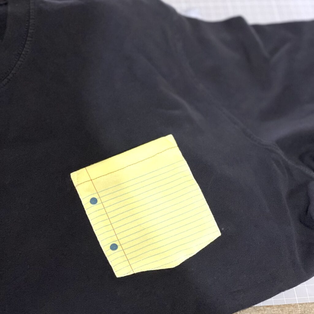 外国ノートポケットTシャツ