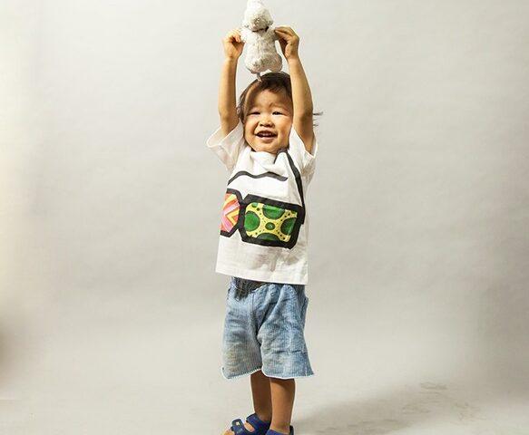 韓国産縫製キッズTシャツ